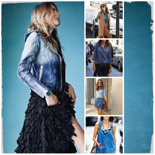 MM Chambray Collage